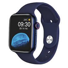 Смарт часы Watch Series 6 HW22 44mm Aluminium Blue