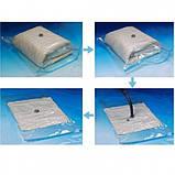 Вакуумный пакет для хранения вещей 70x100 см, фото 5