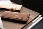 Коричневый чехол на iphone 5/5S из эко-кожи, фото 5