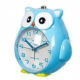 Дитячий будильник Сова (Blue), фото 2