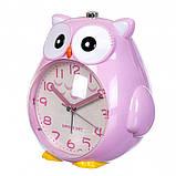 Детский будильник Сова (Pink), фото 2
