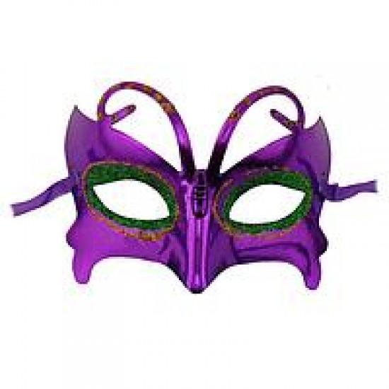 Венеціанська маска Метелик (фіолет)