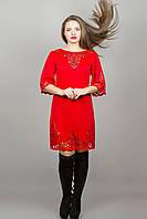 Платье Валенсия - красный: 46,48,50,52,54, фото 1
