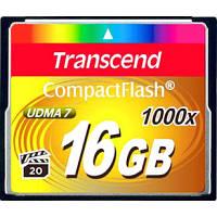 Transcend Compact Flash 16GB (1000X)