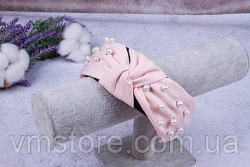 Обруч для волос с узелком, модный, нарядный обруч
