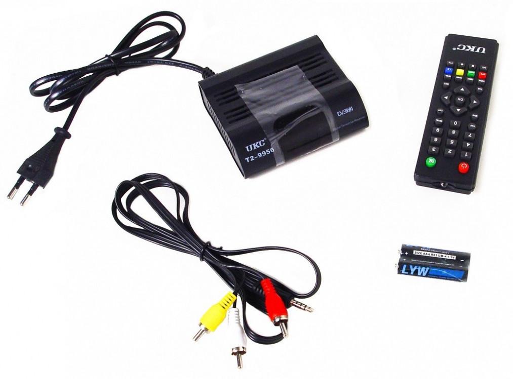 Тюнер DVB-T2 9956 з підтримкою Wi-Fi адаптера