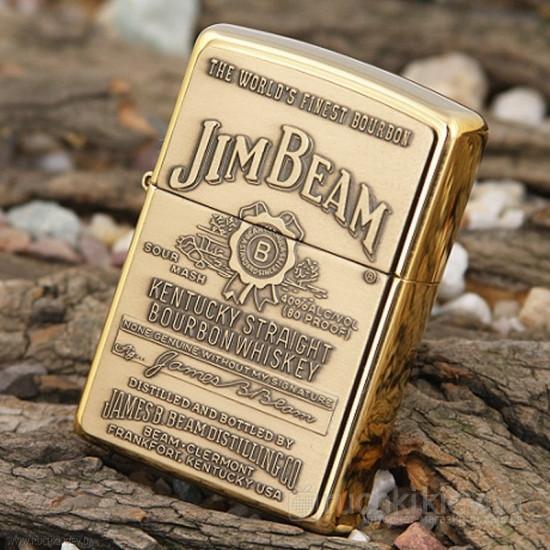 Запальничка бензинова Jim Beam