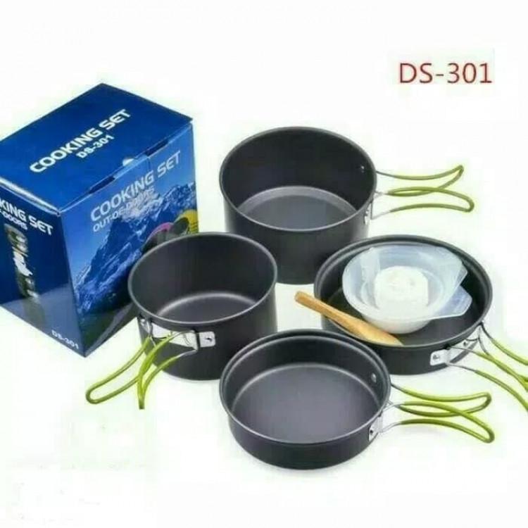 Набір посуду похідний Cooking Set DS-301