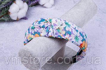 Яркий, летний обруч для волос, обруч с цветами