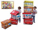 Пуф дитячий складаний Трамвайчик, фото 3