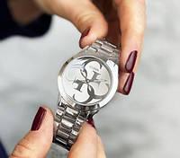 Круті чоловічий годинник Guess 7222 GZM Silver-Silver