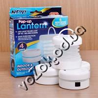 Набор складных Led светильников Pop-up Lantern 4 Pack 4 штуки, фото 1