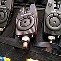 Набор сигнализаторов 4+1 Sams Fish с боковыми фиксаторами и фонариком, фото 3