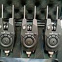 Набор сигнализаторов 4+1 Sams Fish с боковыми фиксаторами и фонариком, фото 2