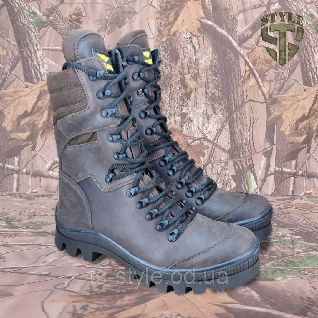 Берці SL1 для полювання коричневого кольору демі/зима