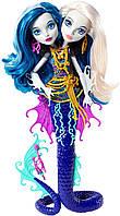Кукла Monster High Пэри и Пёрл Серпентайн (Peri & Pearl) из серии Great Scarrier Reef Монстр Хай