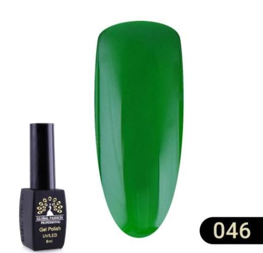 Гель-Лак Global Fashion Black Elite №046, 8мл