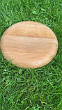 Дерев'яна менажниця шашличниця з соусом D35 см., фото 10