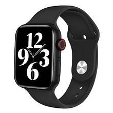 Smart Watch Series 6 FK88 44mm Aluminium Black 2 браслета