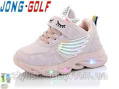 Детская обувь оптом. Детская спортивная обувь 2021 бренда Jong Golf для девочек (рр. с 21 по 26)