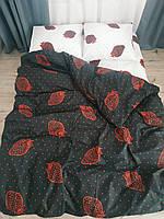 Комплекты постельного белья КПБ Комплект постельного белья 1 5 полуторный, евро, семейный, двуспальный черный