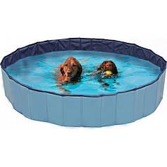 Бассейн для собак CROCI EXPLORER, винил, d-160х30 см - нет заглушки на слив воды