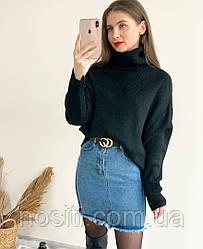 Женска короткая джинсовая юбка