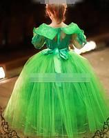 Дитяче красиве яскраве плаття з пишною спідницею, фото 2