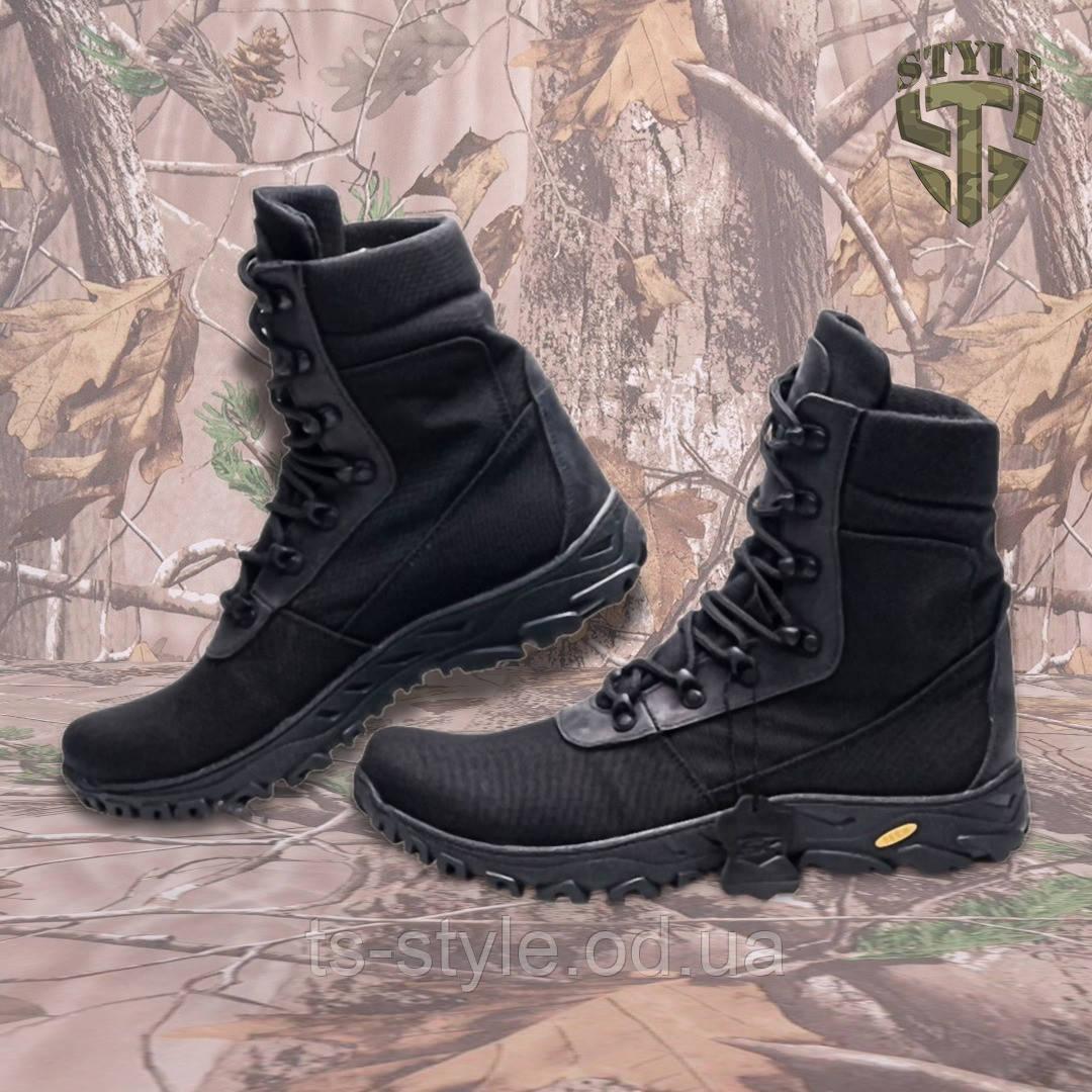 Берці полегшені Defence туристичні, чорного кольору