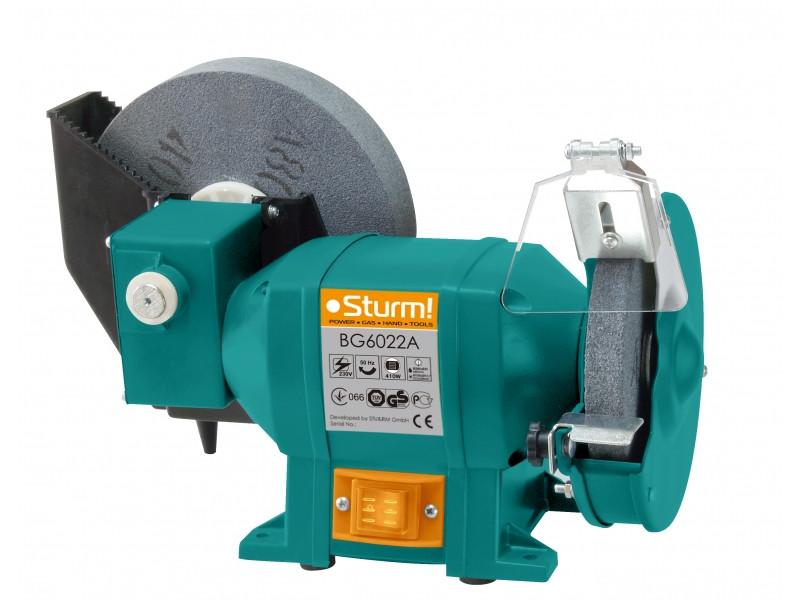 Точильный станок 200 мм, 410 Вт Sturm BG6022A