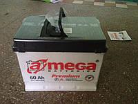 Аккумуляторы Amega-Premium 60А/ч-600А с гарантией  36 месяцев