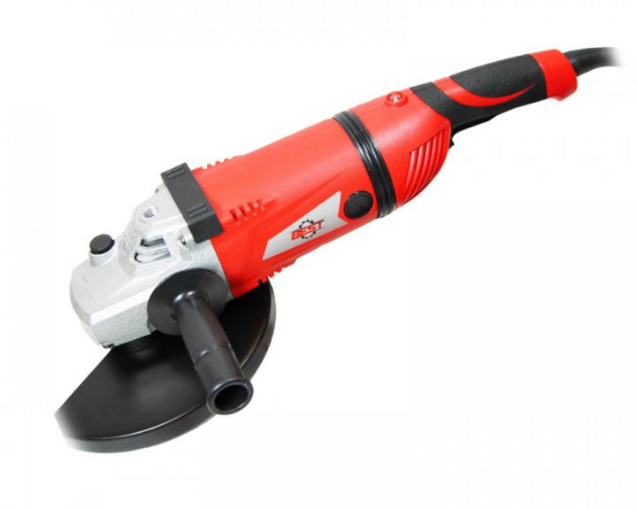 УШМ (болгарка) велика BEST МШУ-230-2750 (Плавн. пуск,кабель 3 м,поворотн.ручка,індикатор перевантаження.)