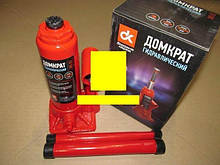 Домкрат гидравлический бутылочный  JNS-03PVC / 3Т / 180-340 мм; (пласт. упак.)