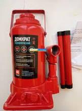 Домкрат гидравлический 12т ДК JNS-12 красный