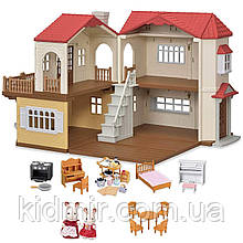 Sylvanian Families Великий будинок зі світлом Calico Critters CC1797