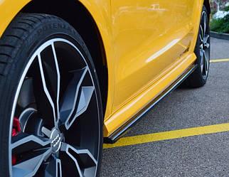 Пороги Audi S1 8X (14-18) елерон тюнінг обвіс