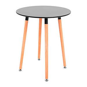 Круглий стіл обідній Richman Xavier діаметром 60 см чорний