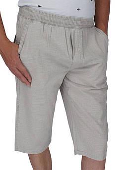 Хлопковые мужские шорты Goldman 0233 Н в сером цвете