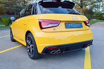 Елерон Audi S1 8X (14-18) дифузор тюнінг обвіс