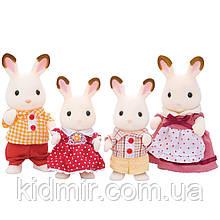 Sylvanian Families Сім'я Шоколадних кроликів Calico Critters CC1642