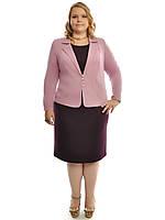 Нарядный женский костюм Виола,размеры 48-62,модель ДК 464, фото 1