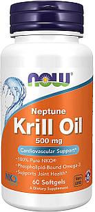 Now Neptune NKO Krill Oil 500 mg.60 ЖК