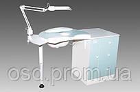 Стол А-1 для аппаратного маникюра с вытяжкой