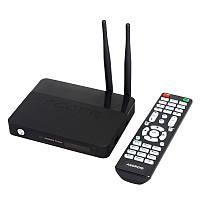 Медиаплеер Android TV CSA91 Rockchip RK3368 2Gb/16Gb 4K Ultra HD LAN AV + пульт ДУ