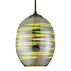 Светильник подвесной LASER Е27 3D-эффект овальный