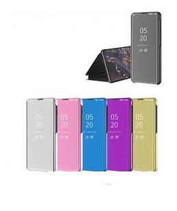 Чехол Mirror для Samsung Galaxy Note 10 Lite / N770F книжка Зеркальная (разные цвета)