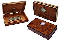 Хьюмидор 92063 мини для 5 сигар, св.коричневый ,19х11х4 см