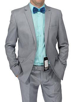 Чоловічий костюм Legenda Class 2126#3/10 в світло-сірому кольорі