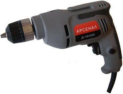 Дрель безударная Арсенал Д 10/500 (быстрозажимной патрон)