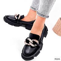 Туфлі жіночі Glee чорні 4121